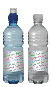 style fles flesje blik blikje opdruk design ontwerp