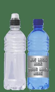 water met eigen etiket