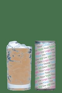 ijskoffie eigen logo