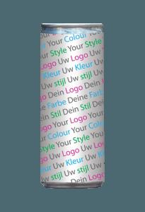 logo fles drankenreclame reclame kleurstijl eigen etiket energydrinks private label