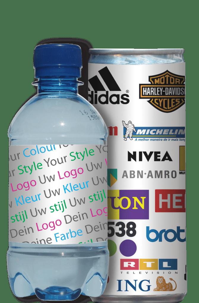 eigen label drankjes